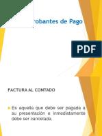Formatos de Comprobantes de Pago I