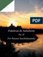 Swami Satchidananda - Palabras de Sabiduria Vol4