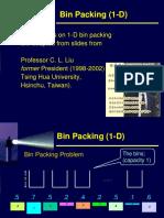 2013 03e 1D Bin Packing