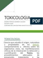 TOXICOLOGÍA   EFECTOS PRESENTACION