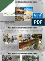 Meio Ambiente Urbano e Saneamento Básico