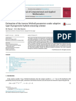 2017-Estimation of the Inverse Weibull Par. Under Adaptive Type-II Progr. Hybrid Censoring Scheme_[Nassar]