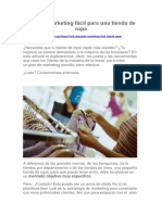 Plan de marketing fácil para una tienda de ropa.docx