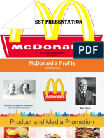 Mc Donald's Analysis Ghassani VP for Speaking