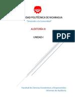Unidad-I; Informes de Auditoría