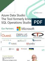 Azure Data Studio - The New Kid in Town