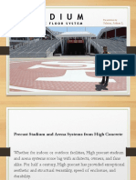Stadium Concrete Floor System