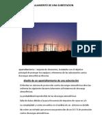 APANTALLAMIENTO y calculo de lA SUBESTACION.docx