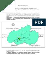 Historia Del Cantón Cevallos