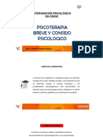 PSICOTERAPIA BREVE Y CONSEJO PSICOLOGICO