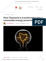 How Tasmania is Transforming Into a Renewable Energy Powerhouse - Create Digital Magazine