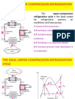 Refrigeration cycles Vapor Compression Cycle.pptx