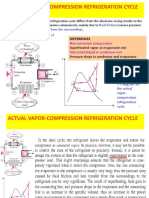 Refrigeration cycles Real Vapor Compression Cycle.pptx
