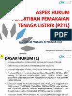 ASPEK HUKUM P2TL