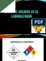 Residuos en laboratorio