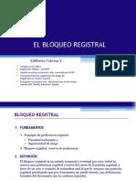 El bloqueo registral Edilberto Cabrera