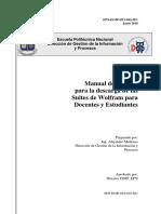 Manual Descarga Wolfram