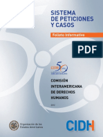 Guía Informativa OEA. CIDHFolleto