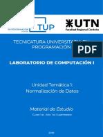 2019 TUP 1C LCI TEO U1 Normalizacion
