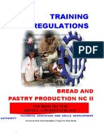 Competency-based Curriculum Bread and Pastry Tm1