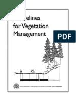 Preview Guidelines For Vegetation Management AASHTO