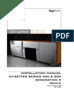 135403 UV Setter 400-800 Installation en V03 Draft