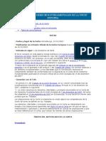 Carta de Los Derechos Fundamentales de La Unión Eupopea