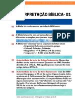 estudo Bíblico 1