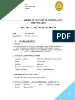 ESQUEMA OFICIAL DE PROYECTO DE INVESTIGACIÓN CIENTÍFICA 2019 (Parte II).docx