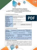 Guía de actividades y rúbrica de evaluación - Actividad 4 - Elaboración de un proyecto para la solución del problema determinado.docx