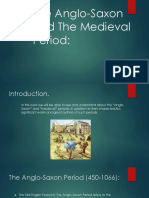 The Anglo Saxon and Medieval Period