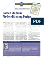 Domed Stadium Air-Conditioning Design