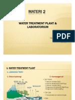 MATERI 2 water treatment plant and laboratorium