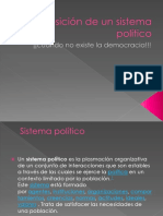 Imposición de Un Sistema Político