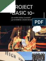 Project b10 1