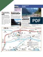 Banff Lake-louise Map