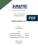 Reporte Academico III-2