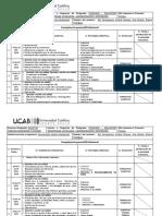 Cronograma Programa Comprension Lectora Sept 2018 Enero 2019 Alumnos