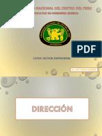 Clase 3- Direccion