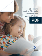 Tax Tips for Medical Students Residents and Medical Fellows