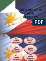 Reformer Revolution