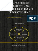 Neurodesarrollo_ Maduración de La Percepción Auditiva y El Sistema Vestibular