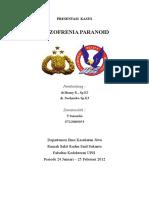 Prekas - Skizofrenia Paranoid