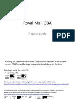 Royal Mail OBA 2
