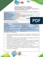 Guía de actividades y rúbrica de evaluación - Actividad 2-Argumentar un problema de investigación..pdf