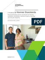 Summary Document Healthy Homes Standards