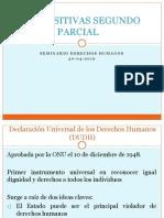Seminario DDHH Segundo Parcial