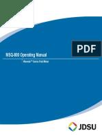MSQ 800 User Manual Rev2