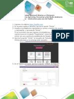 Instructivo Para Uso de Padlet Diplomado 2019