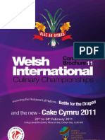 Welsh International Culinary Championships